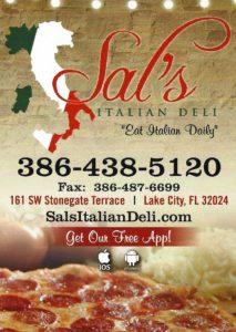 Pizza Night Cruise-in at the original Sal's @ Sal's Deli, W US 90, Lake City, Florida